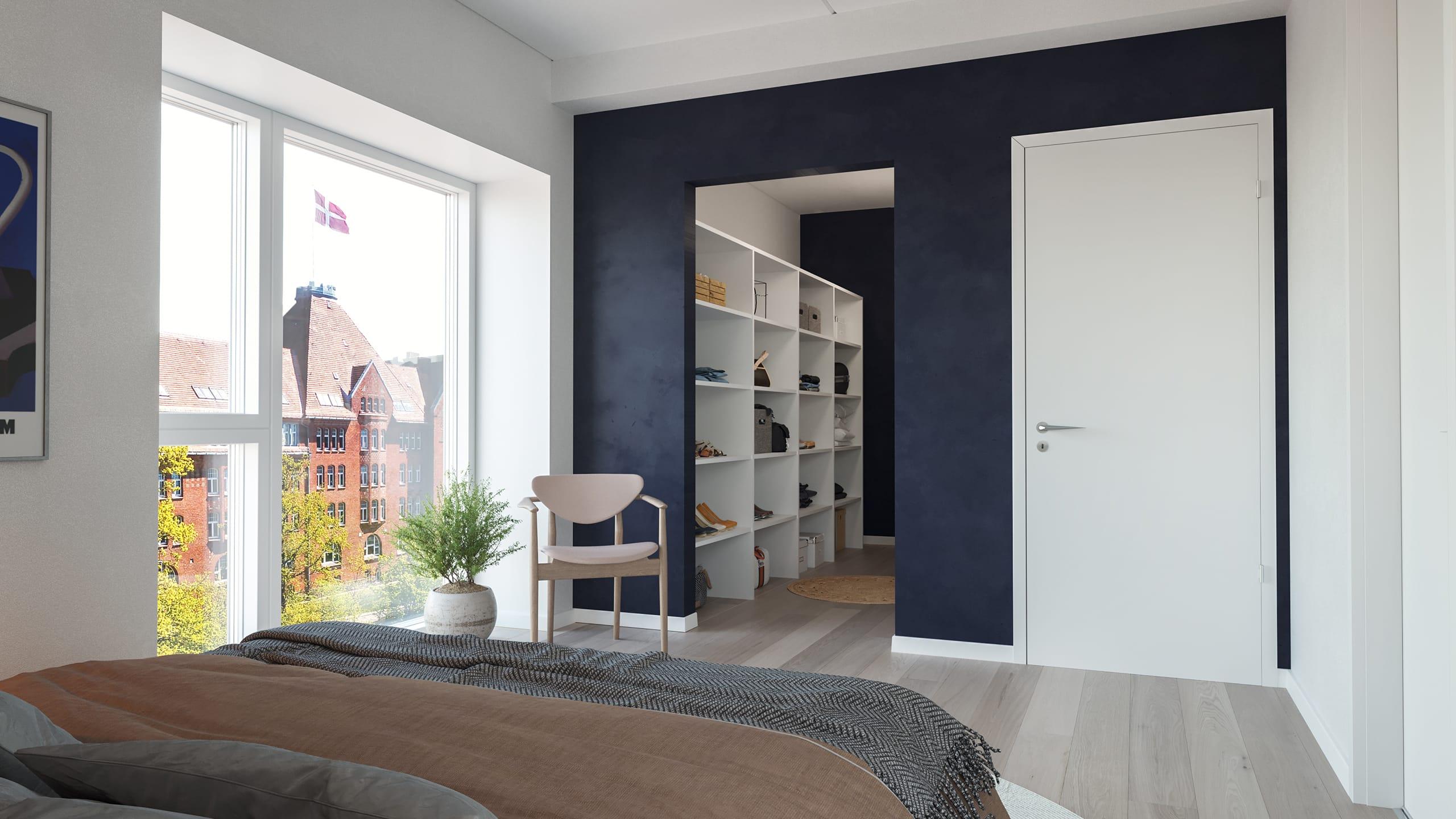Kongebro-Huset - Lejlighed 28 - Penthouse, 6. sal - Soveværelse